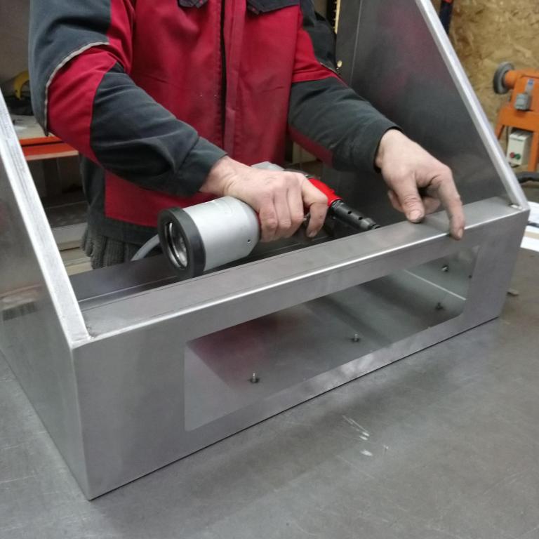 Meca System - Assemblage mécanique de différentes pièces d'un produits