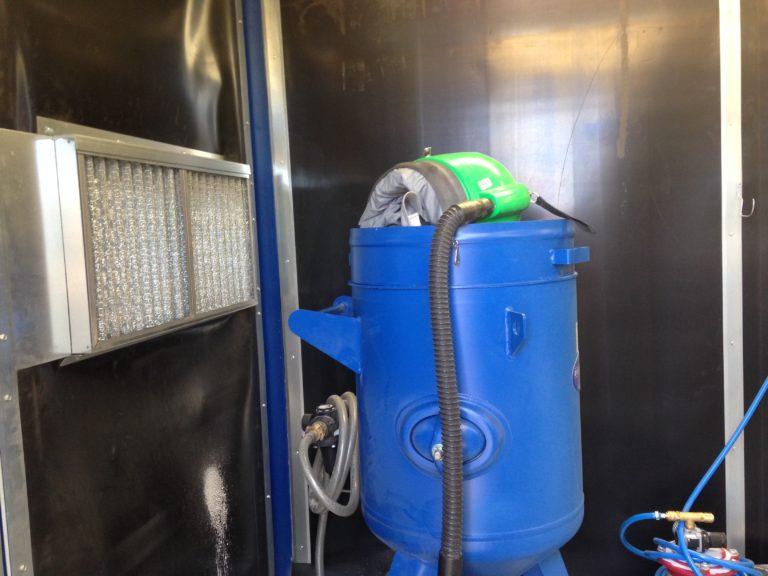 Meca System - Grenailleuses pour profilés, tôles, tubes et pièces soudées