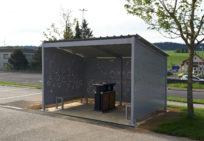 Abri cache conteneur - Réalisation Meka design MecaSystem