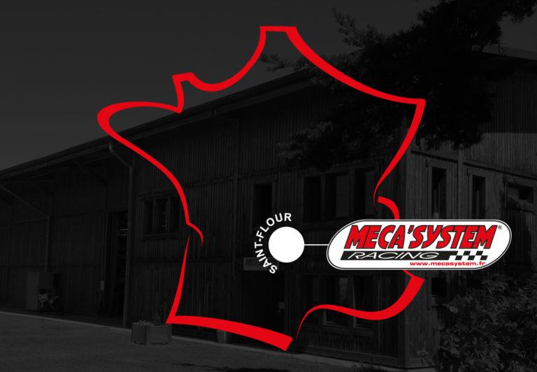 Emplacement des locaux de MecaSystem – 1500 m² à Saint Flour